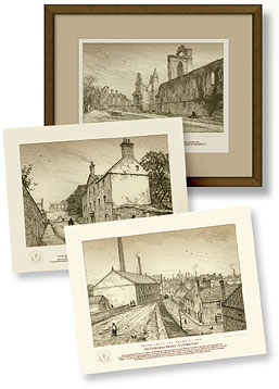 Rare antique prints of Arbroath. Archivable for 75 years.